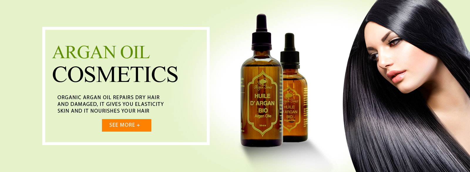 ORGANIC ARGAN OIL COSMETICS