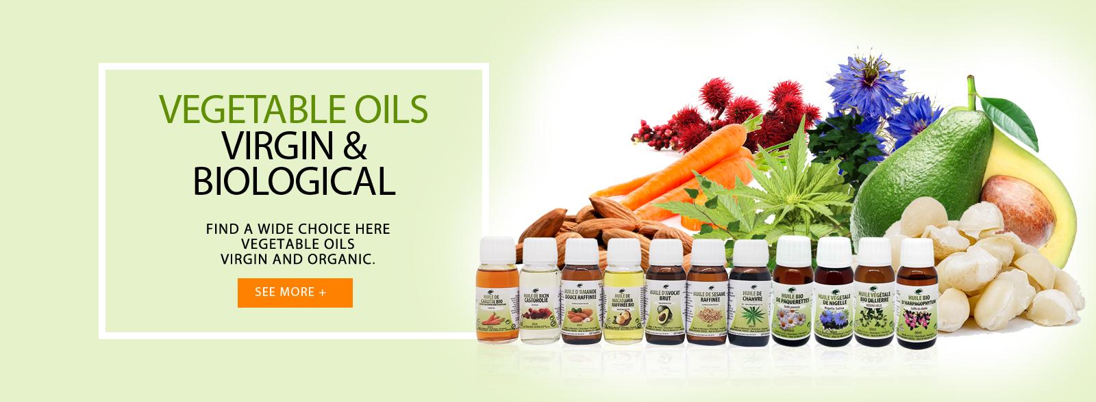Organic Vegetable Oils
