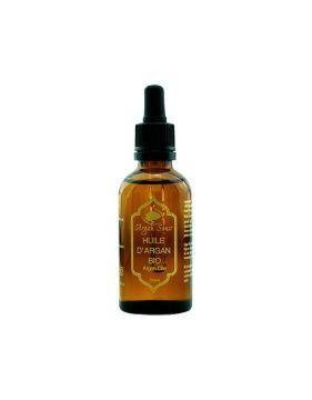 Huile d' argan vierge 100 % bio Argan Souss 50 ml (Doré)