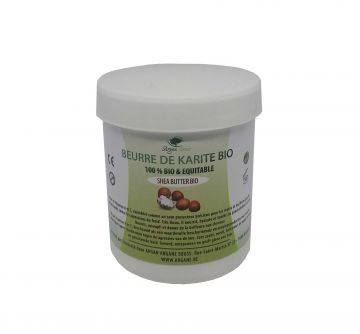 beurre de karité bio vierge raffiné 100g