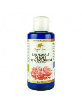 ROSE WATER 100% BIO 200 ML