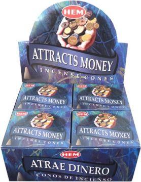 Encens hem attire l argent cônes