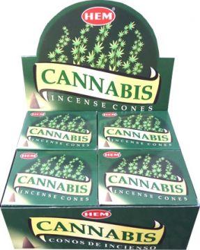 Encens hem cannabis cônes