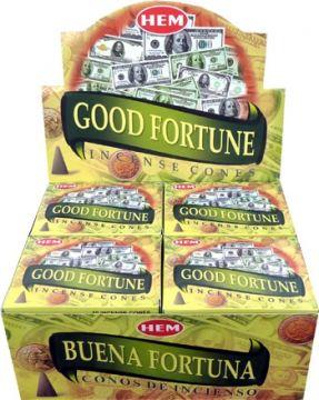 Encens hem good fortune cônes