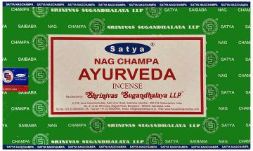 Encens Satya Ayurverda 15 gr