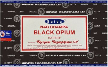Encens Satya black opium 15 gr