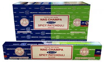 Encens Satya Nag Champa & Spicy Patchouli 15g