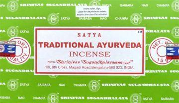 Encens satya traditional ayurveda 15g