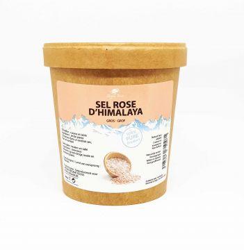 Sel Rose Pure de L' Himalaya gros 1000 gr
