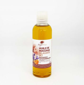 RELAXING MASSAGE OIL BIO 250ML