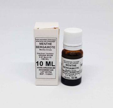 Huile essentielle de menthe bergamote (Mentha Citrata) 10 ml