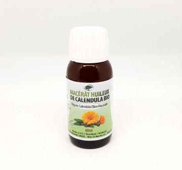 Huile végétale de Calendula Bio 60ml
