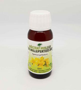 Macérât huileux de fleurs de Millepertuis BIO 60 ML