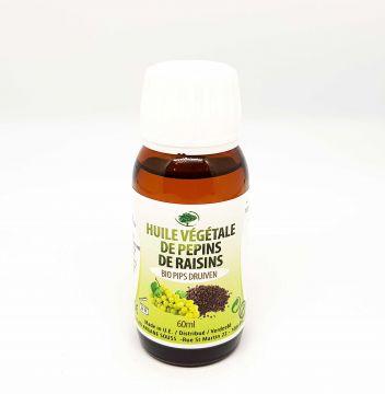HUILE VEGETALE DE PEPINS DE RAISIN VIERGE 60 ml
