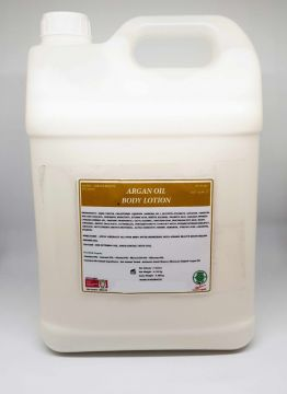 5 LITRE MILK BODY LOTION WITH ARGAN OIL BULK