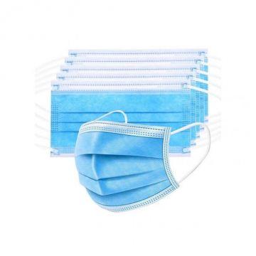 Masque facial jetable (paquet de 50) Disposable 3 - Layer Mask