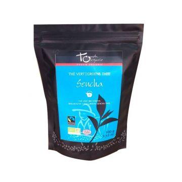 Thé vert vrac Sencha – 100g – Bio & Fair trade
