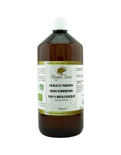 1 LITER ORGANIC ARGAN OIL COSMETIC