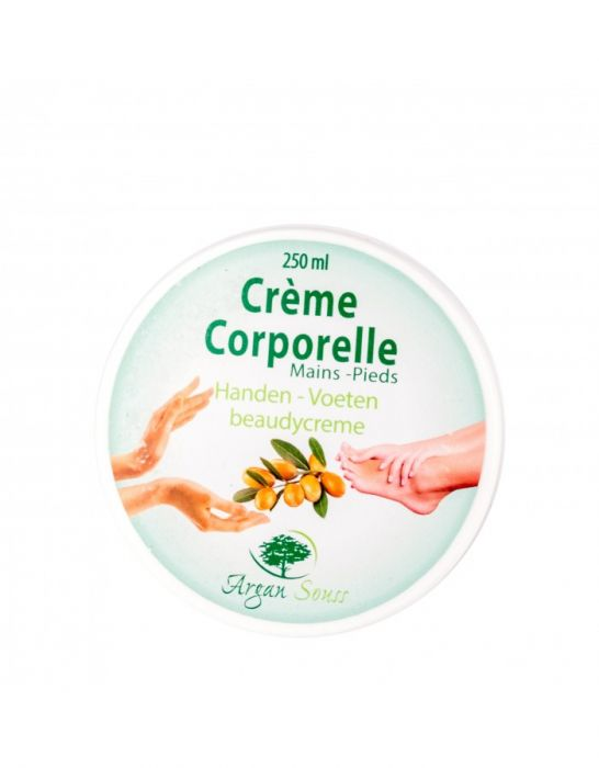 BODY CREAM FOR HANDS FEET ARGAN 250 GR