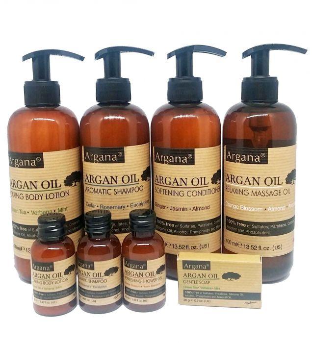 Gel douche à L'huile d'argan argana 40 ml (azbane)