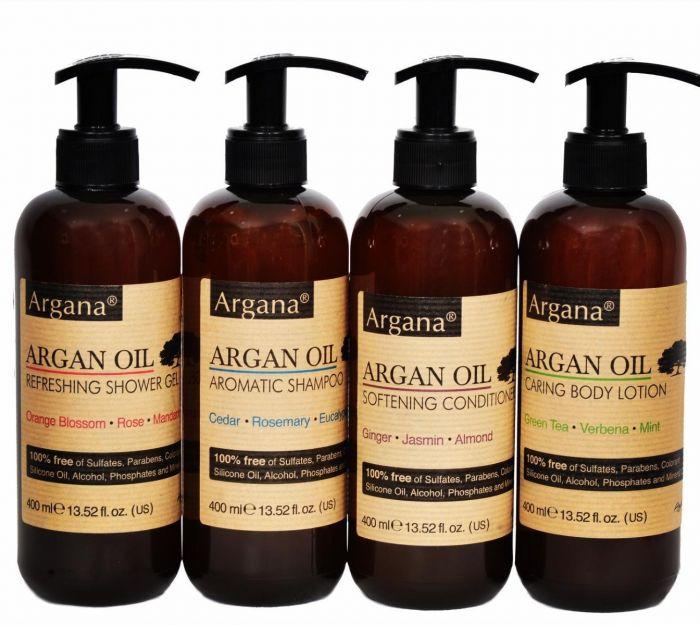 Gel douche à L'huile d'argan argana 400ml (azbane)