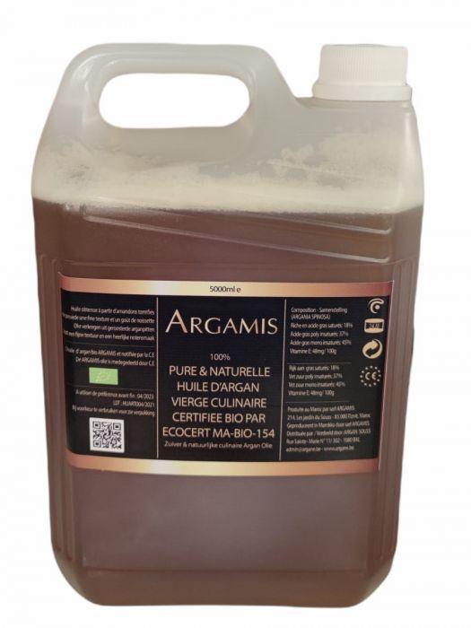 ORGANIC ARGAN OIL FOOD 1L ARGAMIS