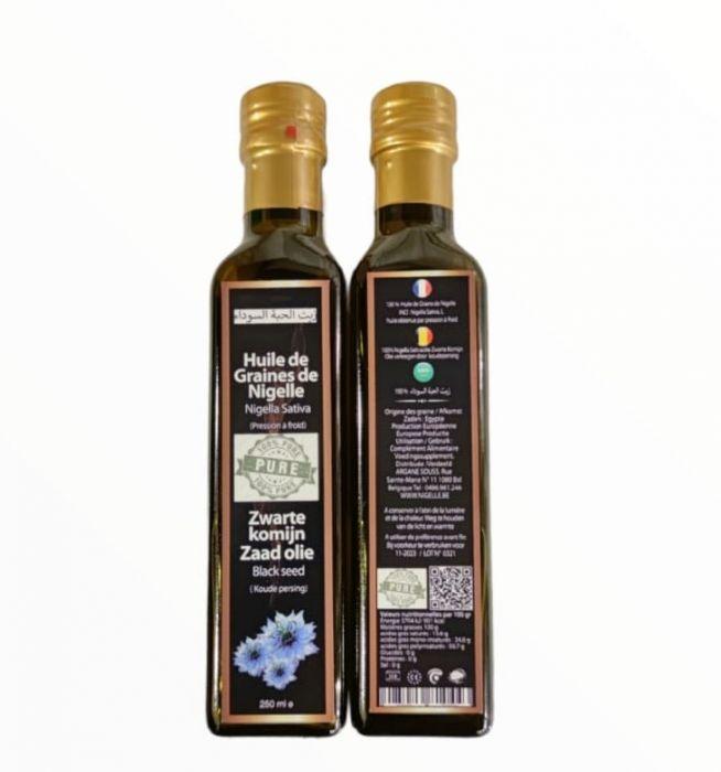 Huile de graines de nigelle vierge 250 ml