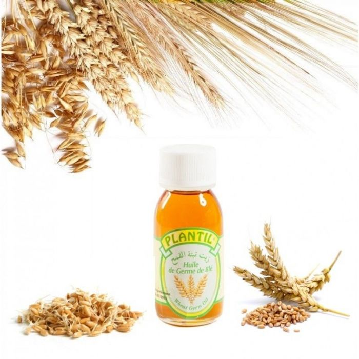 Huile végétale vierge de germe de blé 60 ml