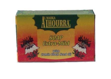 savon extra doux nigelle 85 gr al hourra