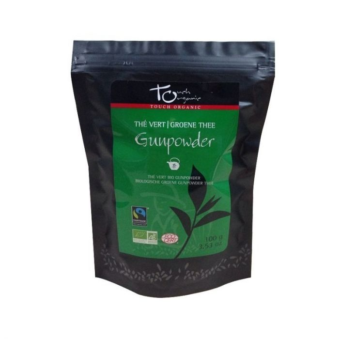 Thé vert vrac Gunpowder – 100g – Bio & Fair trade