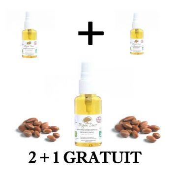 2 + 1 Gratuit HUILE ARGAN BIO 30 ml Spray