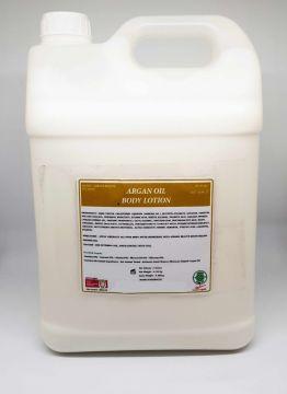 LAIT LOTION CORPORELLE A L ' HUILE D'ARGAN VRAC 5000 ml