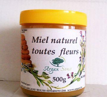 Miel toutes fleurs 500 gr