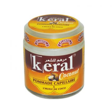 Pommade capillaire Keral à l'huile de coco 100 ml