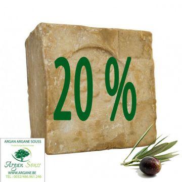 10 SAVONS D' ALEP 20% LAURIER 205 GR