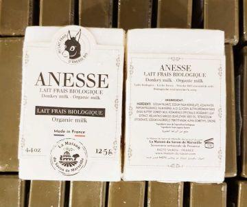 Savon au lait d'ânesse duo - LAIT FRAIS BIOLOGIQUE 125 gr