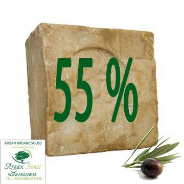 10 SAVONS ALEP 55% LAURIER 205 GR