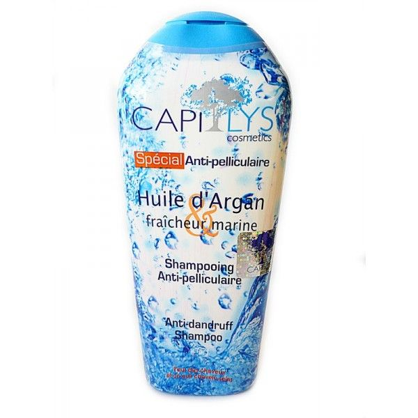 SHAMPOING CAPILYS ANTIPELLICULAIRE ARGAN 250 ML