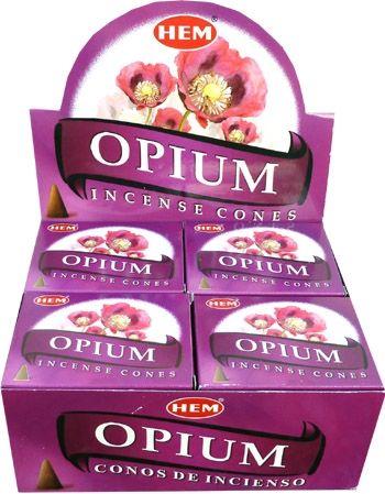 Encens hem opium cones