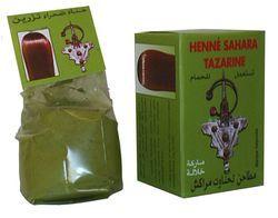 HENNE TAZARINE BAQ NATUREL POUR CHEVEUX 100 gr