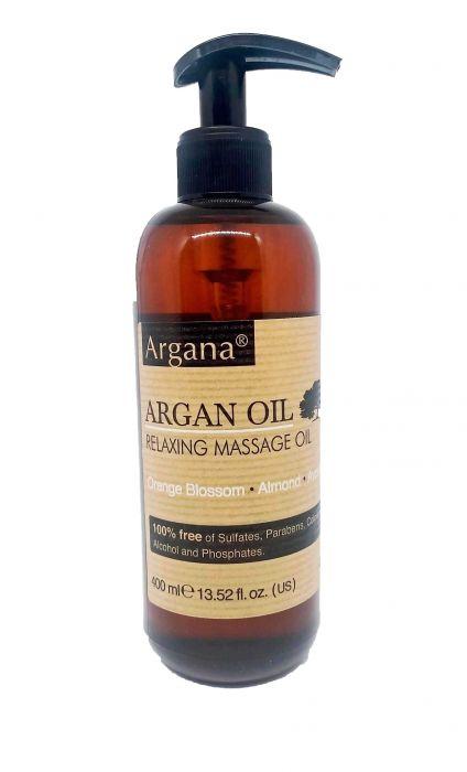 huile de massage argana, 400ml
