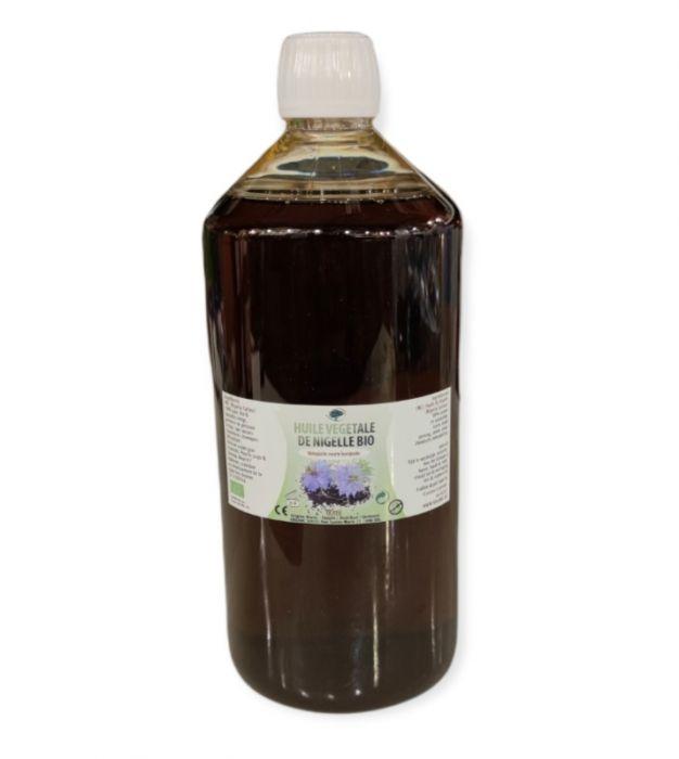 HUILE VIERGE DE GRAINES DE NIGELLE BIO 1000 ml (Cumin noir)