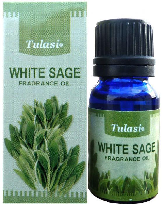Huiles parfumée Sauge Blanche Tulasi 10ml white sage