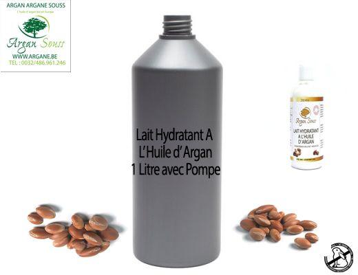 LAIT HYDRATANT À L' HUILE D' ARGAN 1000 ML