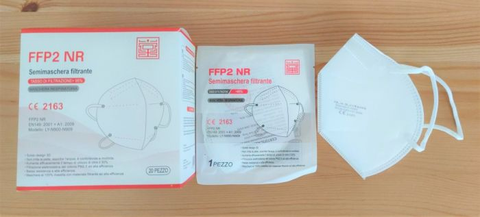 MASQUES FFP2 RN CE2163 Boite de 20 masques