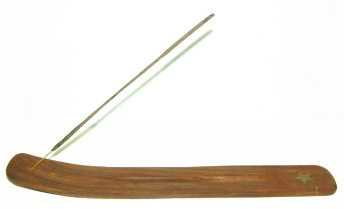 Porte encens en bois