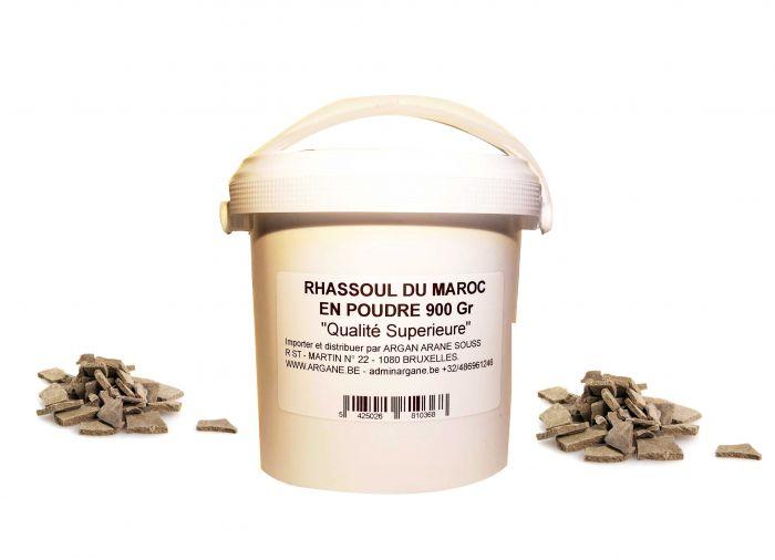 GHASSOUL ARGILE NATURELLE RHASSOUL PULVERISE 900Gr