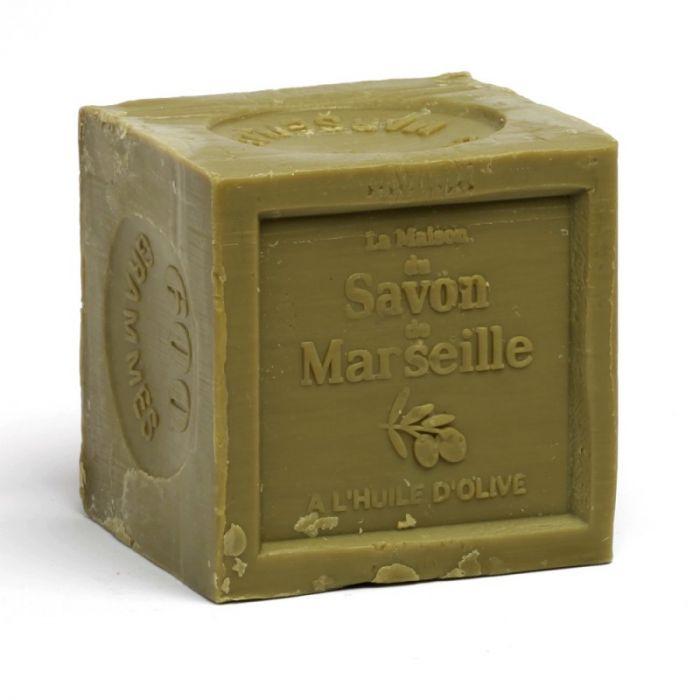 SAVON DE MARSEILLE EN CUBE 72% D'HUILE D'OLIVE 300GR