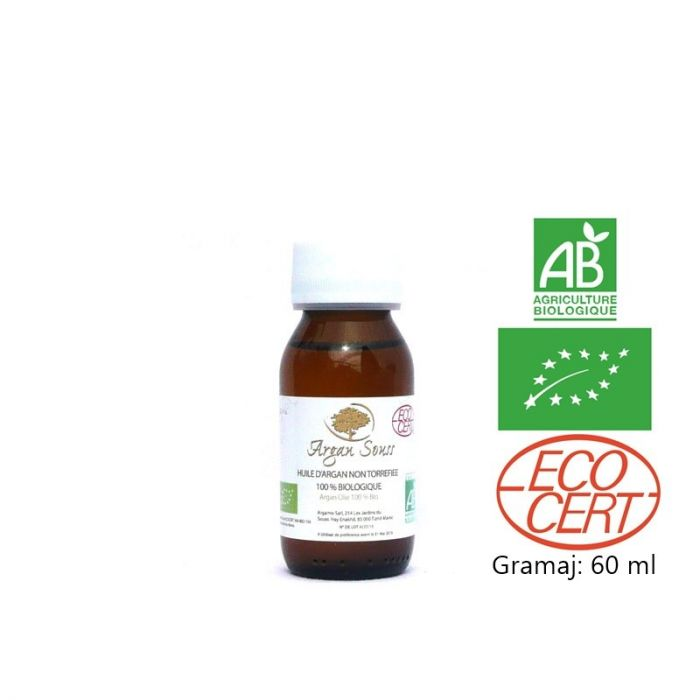 Organic Arganoil Argan souss certified 60ml