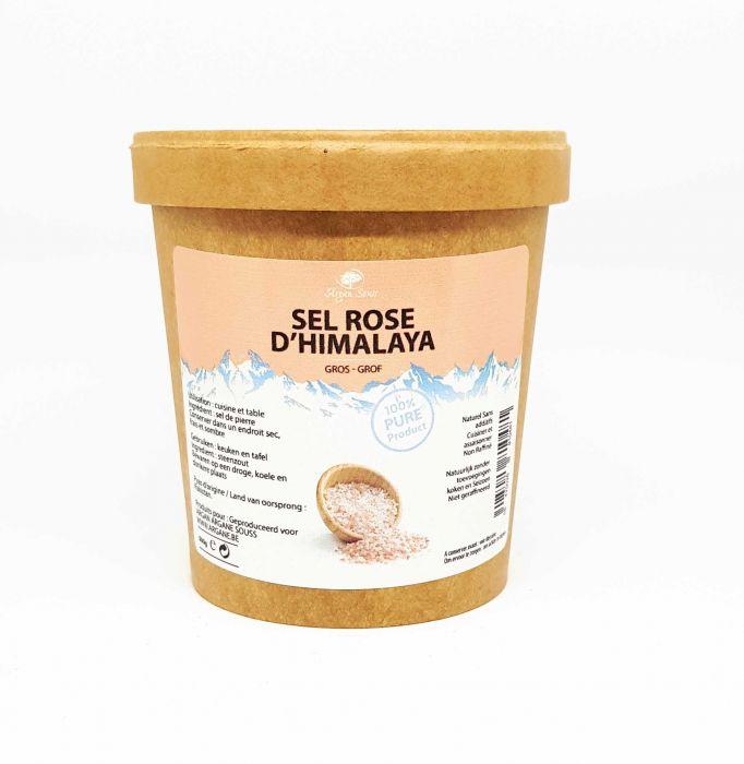 Sel Rose Pure de L' Himalaya Gros 500 gr